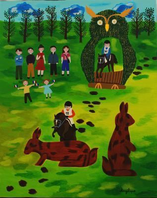 Mondial du cheval du Lion d'Angers