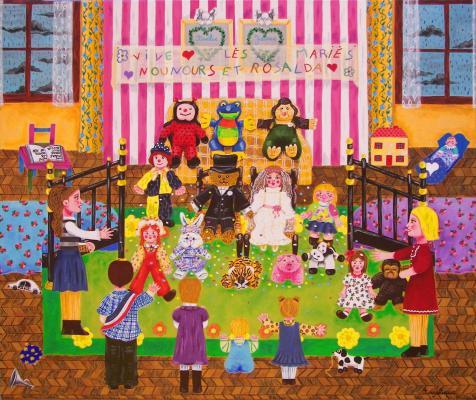 Le mariage de Nounours et Rosalda
